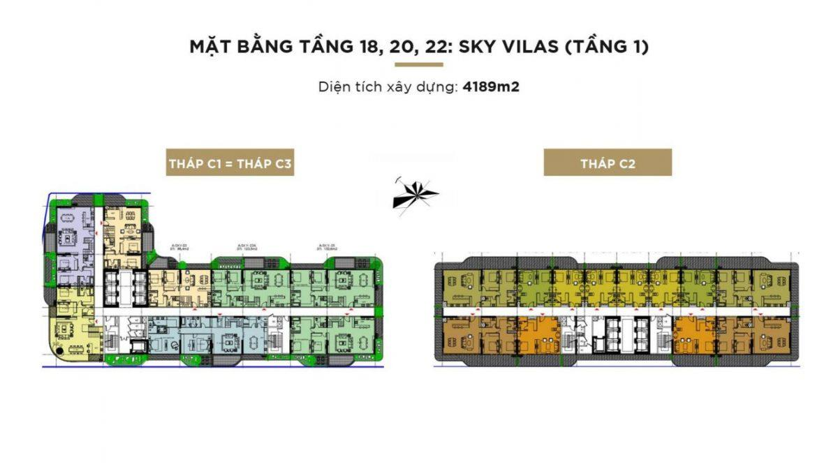 MB TẦNG 18;20;22