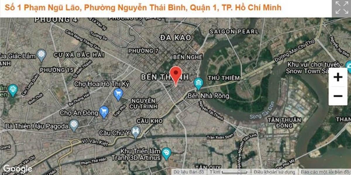 Mạng lưới giao thông tại dự án One Central Saigon đắt giá