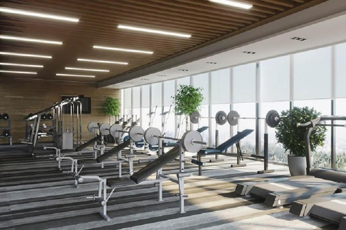 One Central Saigon sở hữu phòng gym thông thoáng, tiện nghi