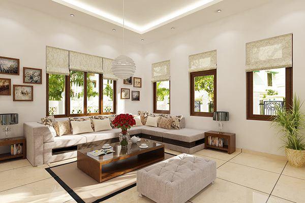 Thiết kế phòng khách gia đình cần phải tìm hiểu chi tiết trước khi bắt đầu xây dựng