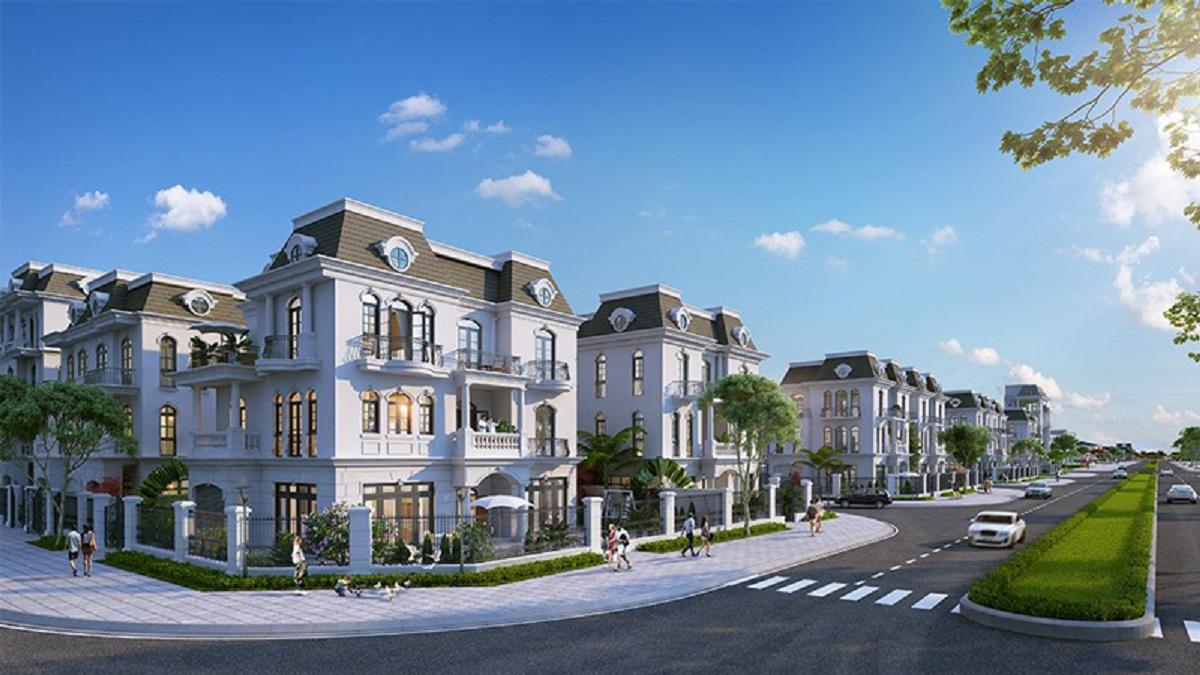Biệt thự Vinhomes Dream City Hưng Yên thiết kế đẹp mặt từ trong ra ngoài