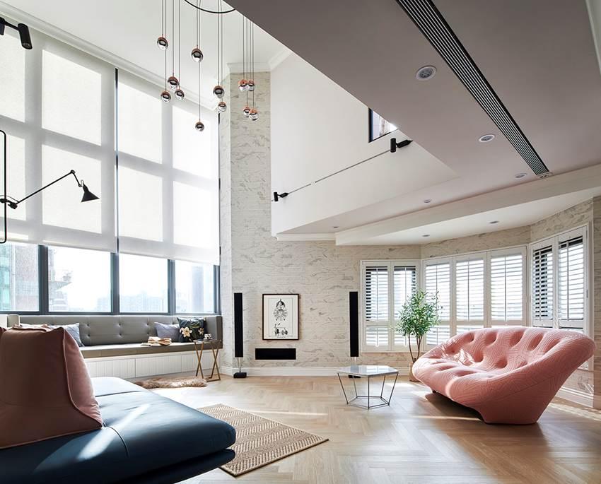 Muốn nhà trở nên rộng rãi, hãy thiết kế thông tầng, nhà ngay lập tức rộng gấp đôi
