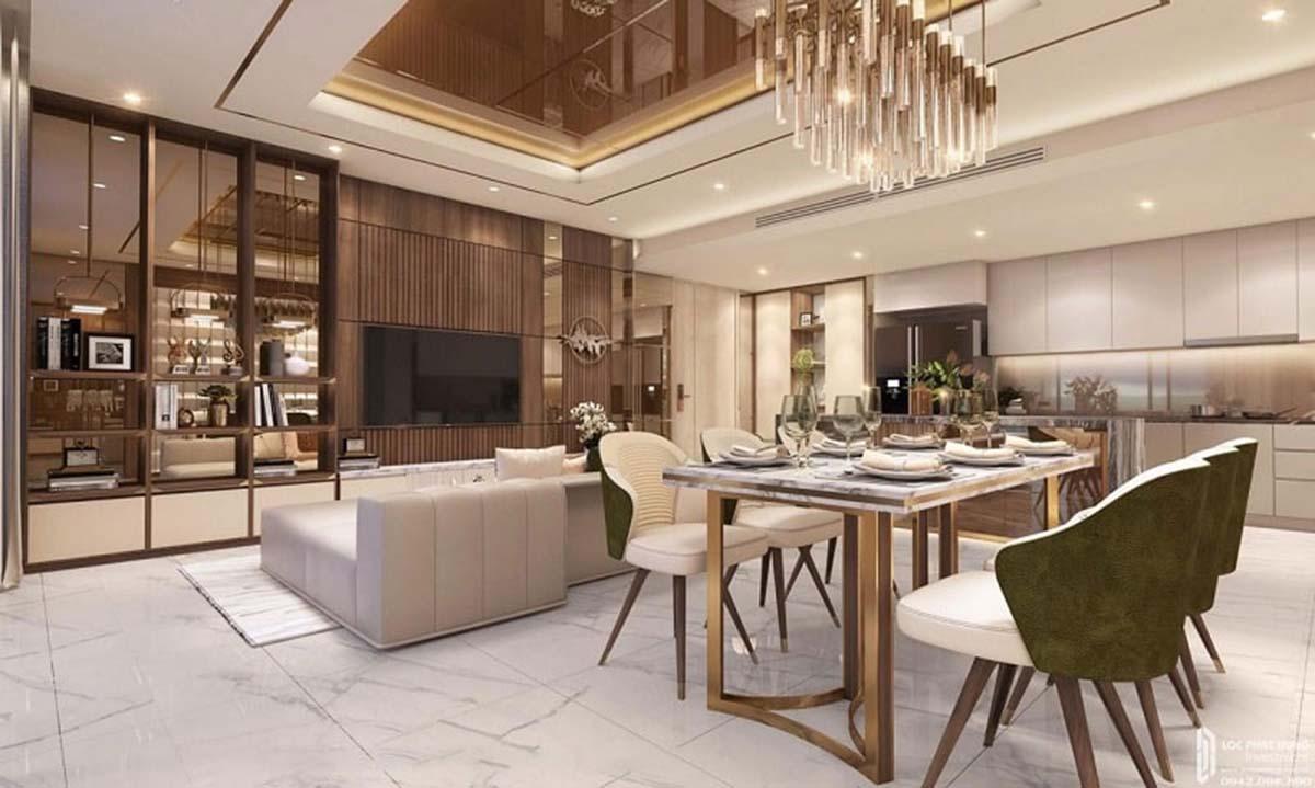 Căn Penthouse dự án thiết kế đẳng cấp và thời thượng