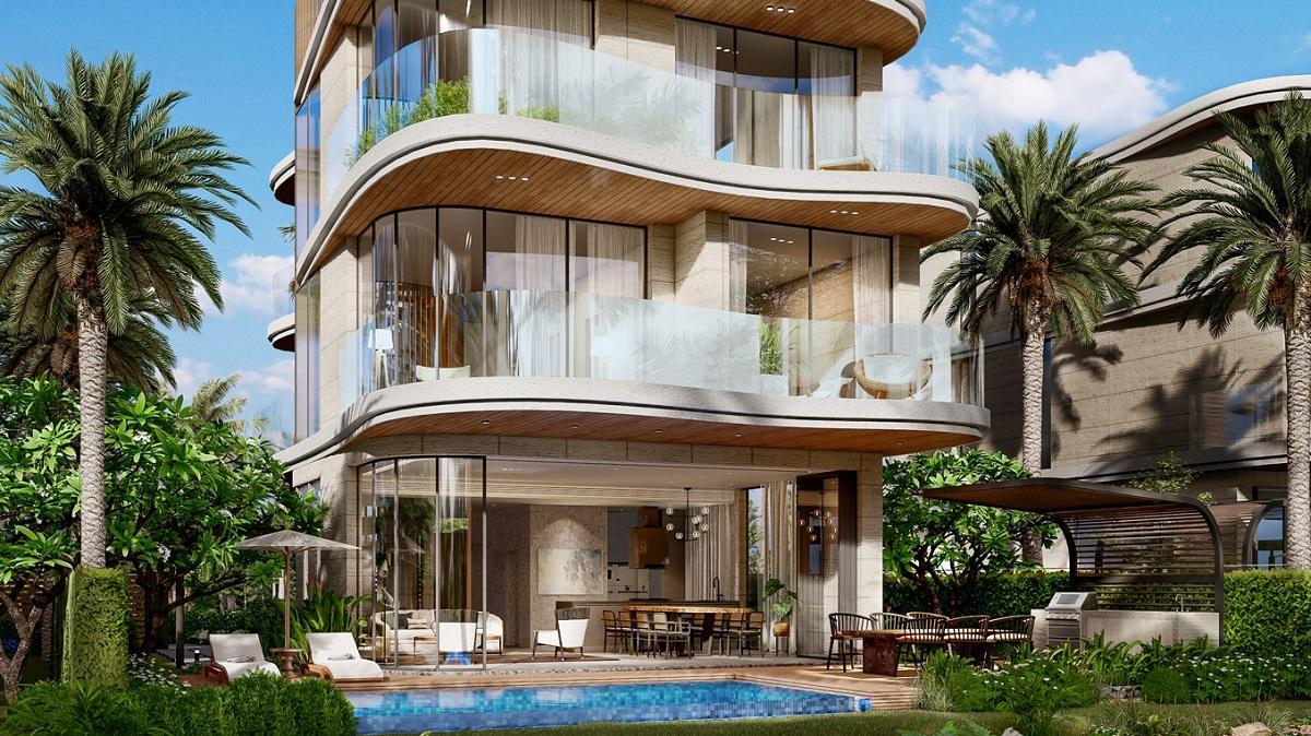 Chi tiết phối cảnh biệt thự Detached Villa của dự án Venezia Beach