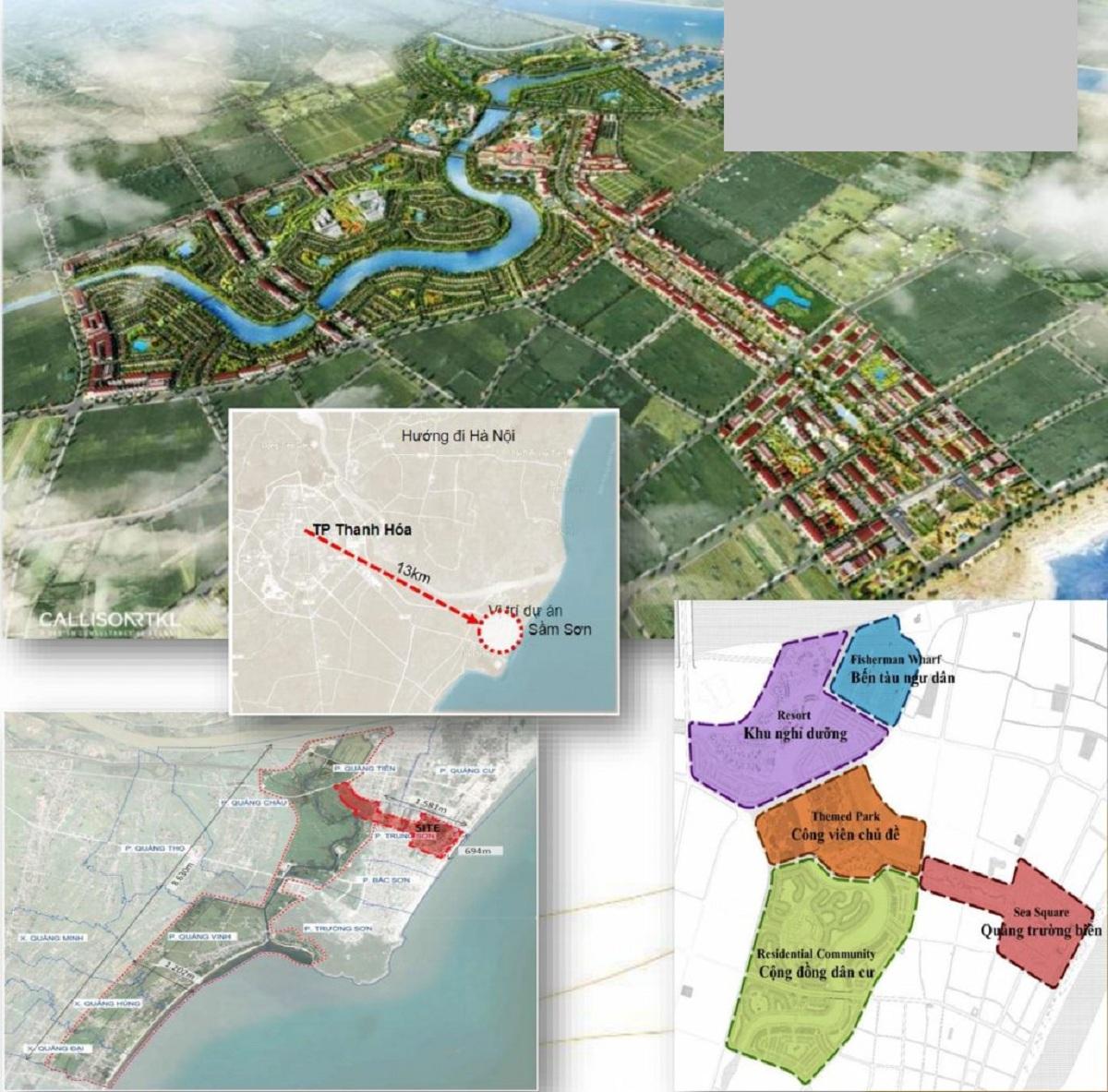 Dự án dễ dàng liên kết các khu vực trung tâm lẫn nhiều tiện ích công trình quan trọng