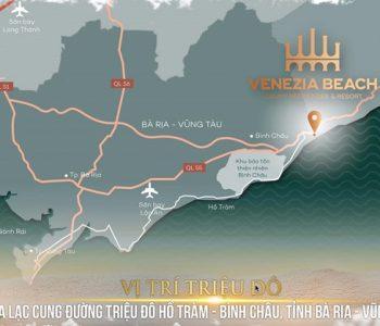 """Dự án Venezia Beach Village Bình Châu sở hữu vị trí """"vàng"""" của khu vực"""