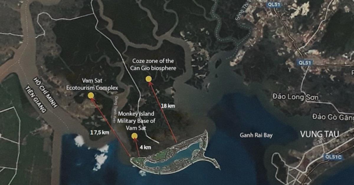 Dự án Vinhomes Cần Giờ nằm trong khu vực chiến lược của huyện Cần Giờ