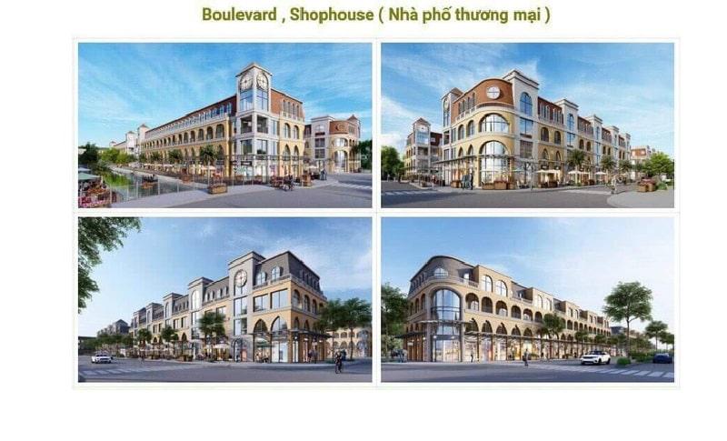 Giá bán shophouse 11 tỷ đồng