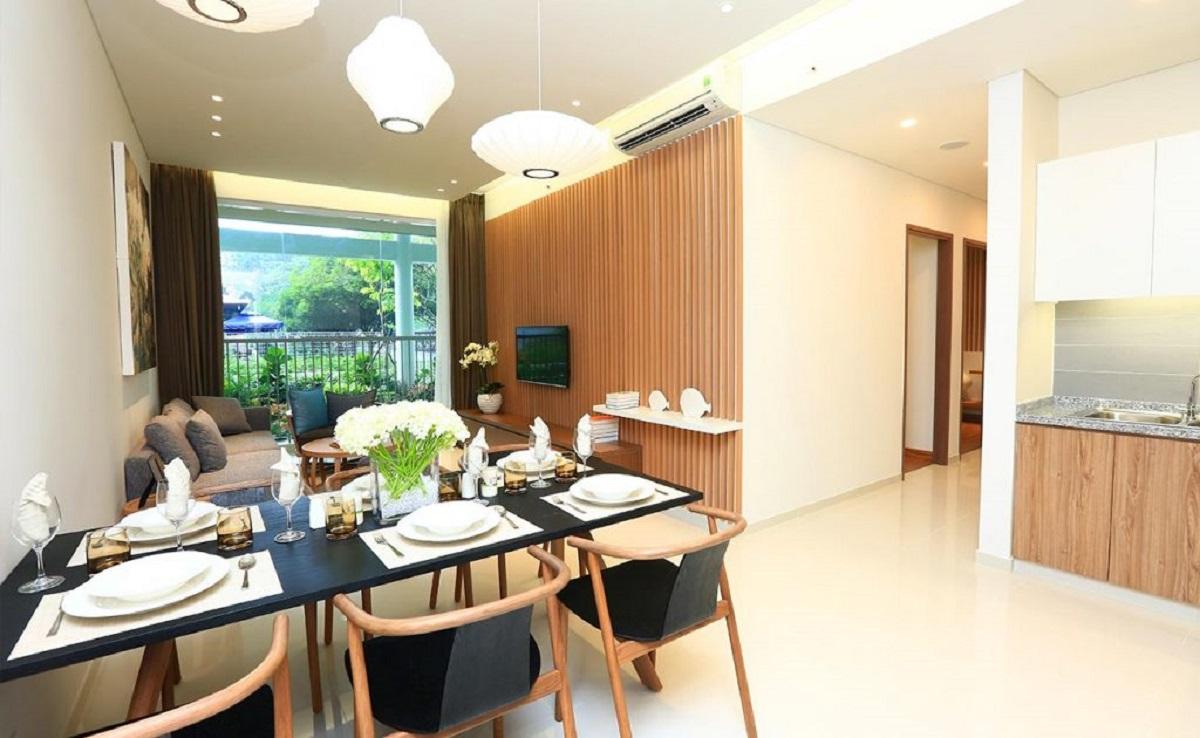 Khu căn hộ chung cư cao cấp view đẹp, không gian sống sang trọng