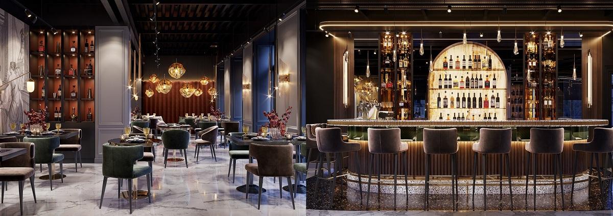Khu nhà hàng chuẩn 5 sao giúp cư dân, du khách nạp năng lượng với những món ngon hấp dẫn