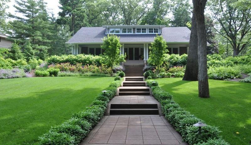 Tính đồng nhất hài hòa là nguyên tắc đầu tiên cần lưu ý nếu muốn cảnh quan sân vườn đẹp