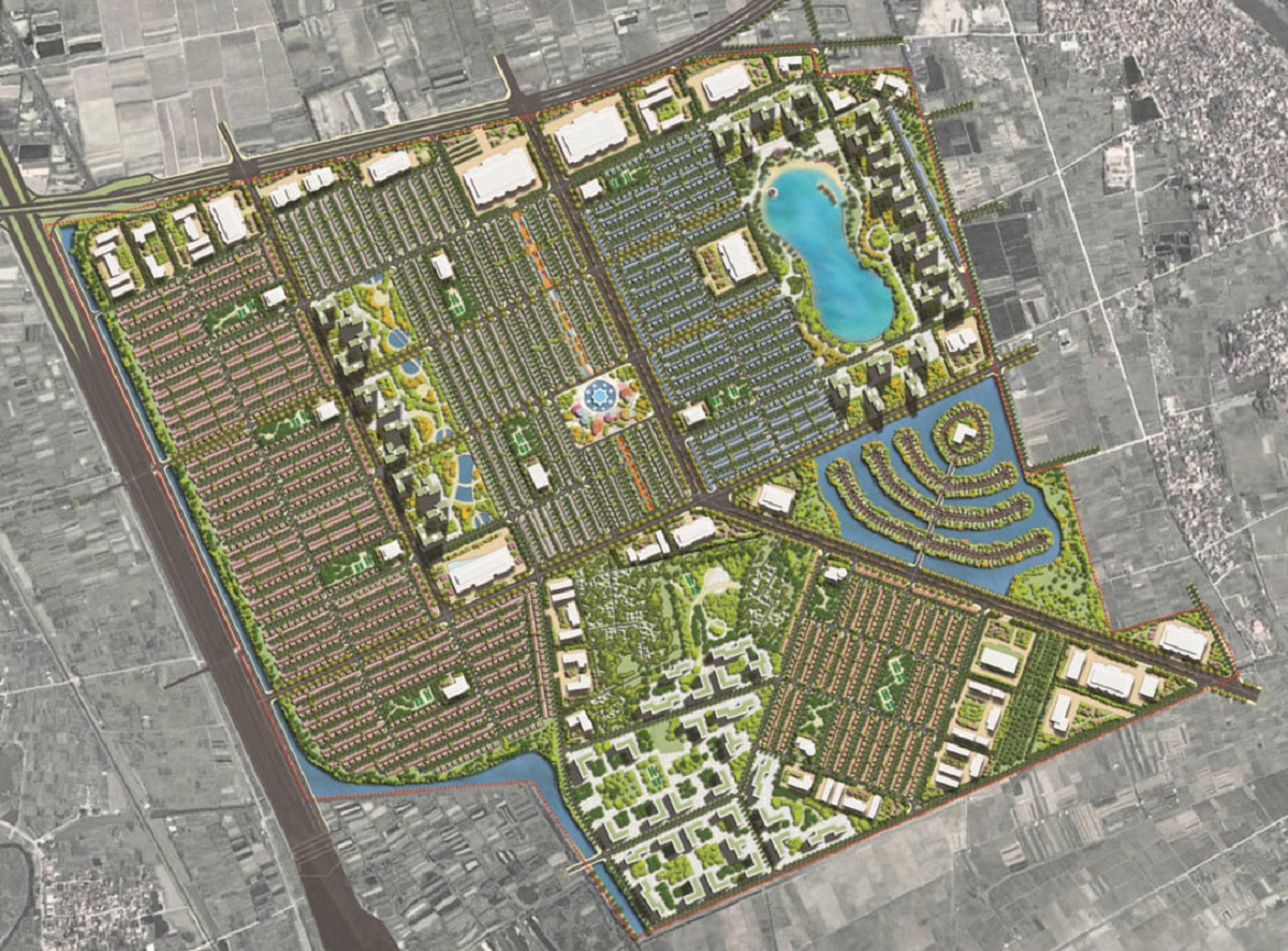 Mặt bằng tổng quan khu dự án Vinhomes Dream City Hưng Yên