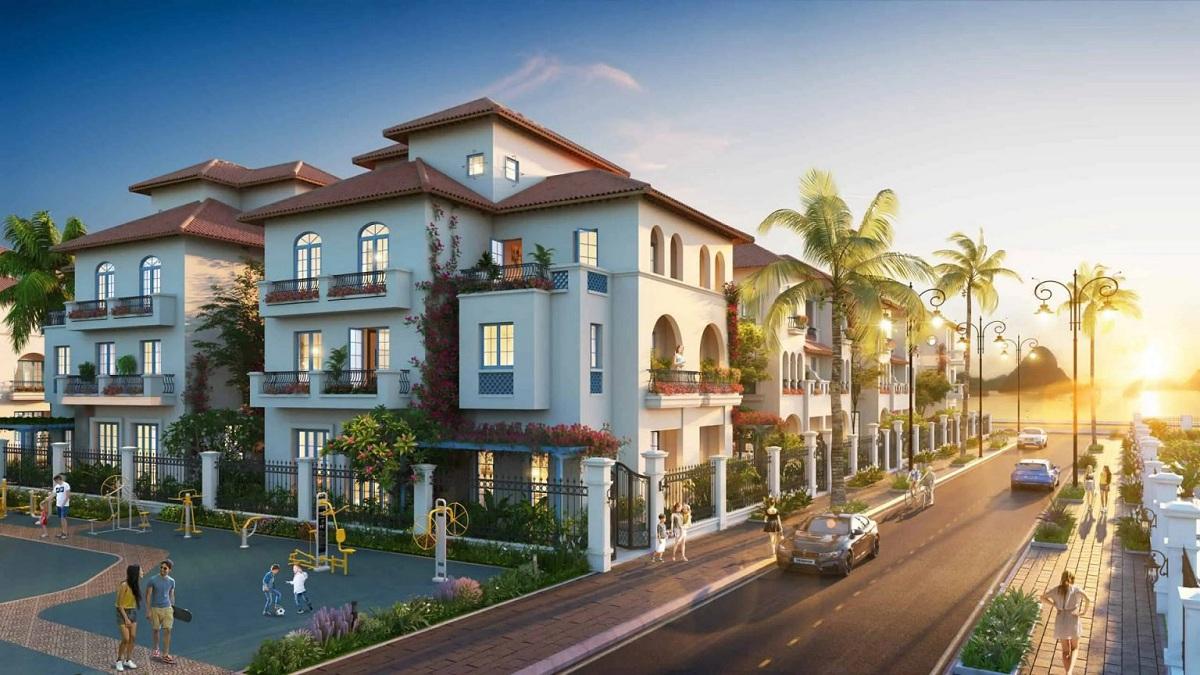 Mẫu thiết kế biệt thự Sun Grand Boulevard Sầm Sơn Thanh Hoá tiêu chuẩn