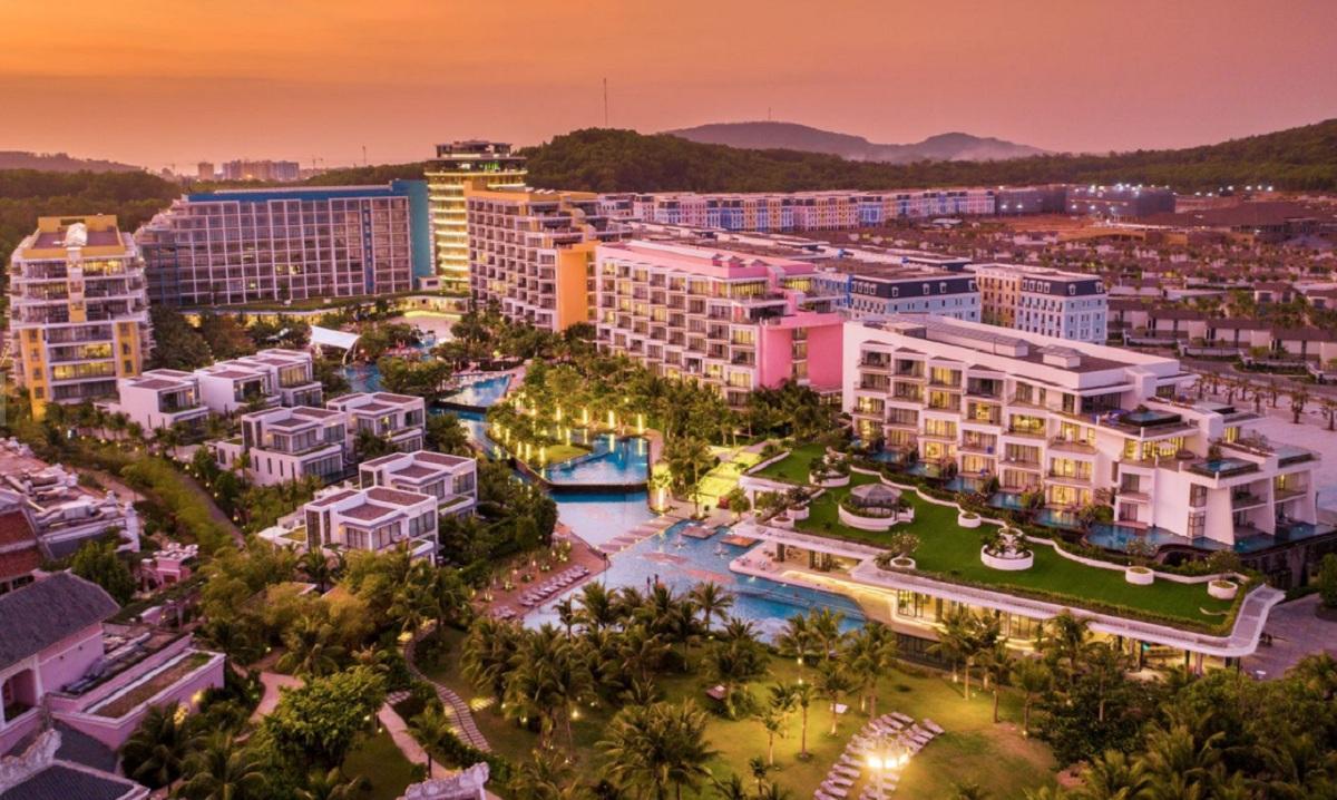 Mẫu thiết kế sản phẩm Boutique Hotel Sun Grand Boulevard Sầm Sơn Thanh Hóa