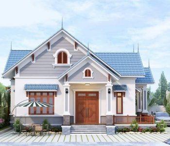 Chọn màu sơn trắng sáng cho ngôi nhà đẹp hiện đại và sang trọng