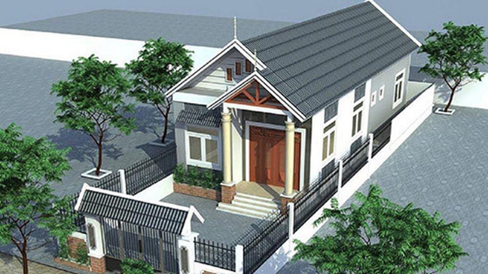 Nhà ống mái thái là kiểu nhà đang được thiết kế và xây nhiều nhất hiện nay