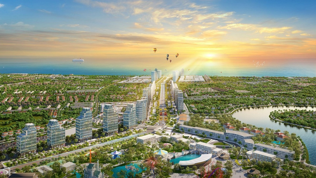 Phân khu Sông Đơ và quảng trường biển chính là phân khu động với hàng loạt hoạt động