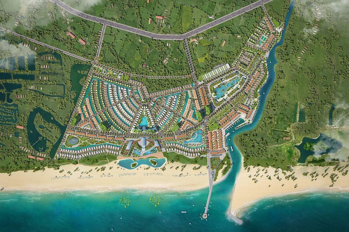 Tổng quan Venezia Beach Hồ Tràm Bình Châu