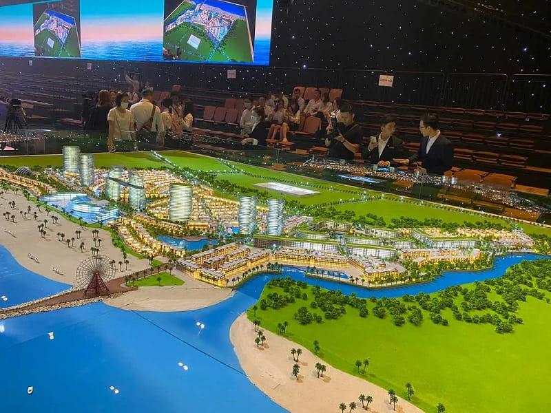 Phối cảnh tổng thể dự án Venezia Beach Hồ Tràm