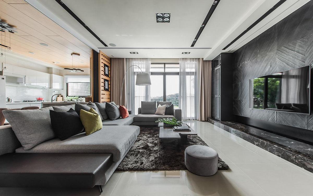 Thiết kế nội thất phong cách Taiwan đẹp hiện đại