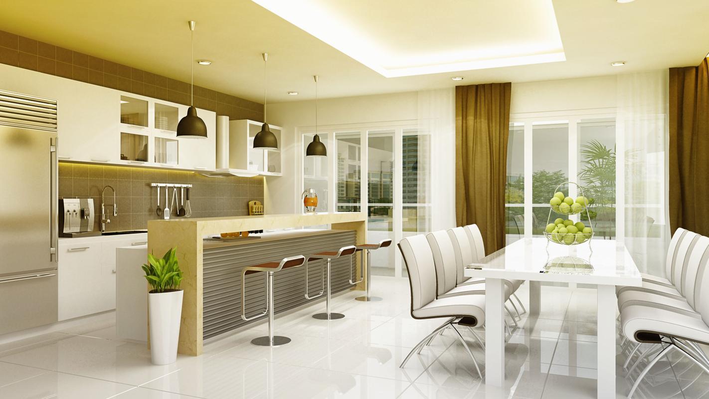 Nhà bếp liên quan mật thiết tới tiền tài và sức khỏe của gia chủ