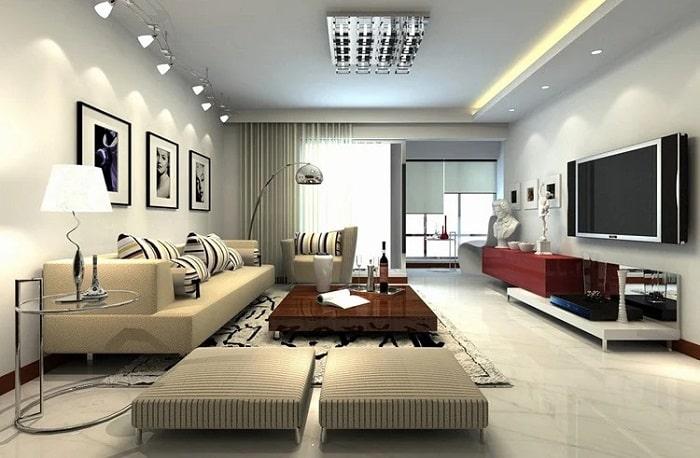 Hướng dẫn thiết kế nội thất phong thủy cho phòng khách