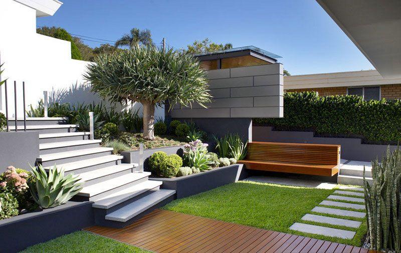Sân vườn theo phong cách Hiện Đại phù hợp với xu thế
