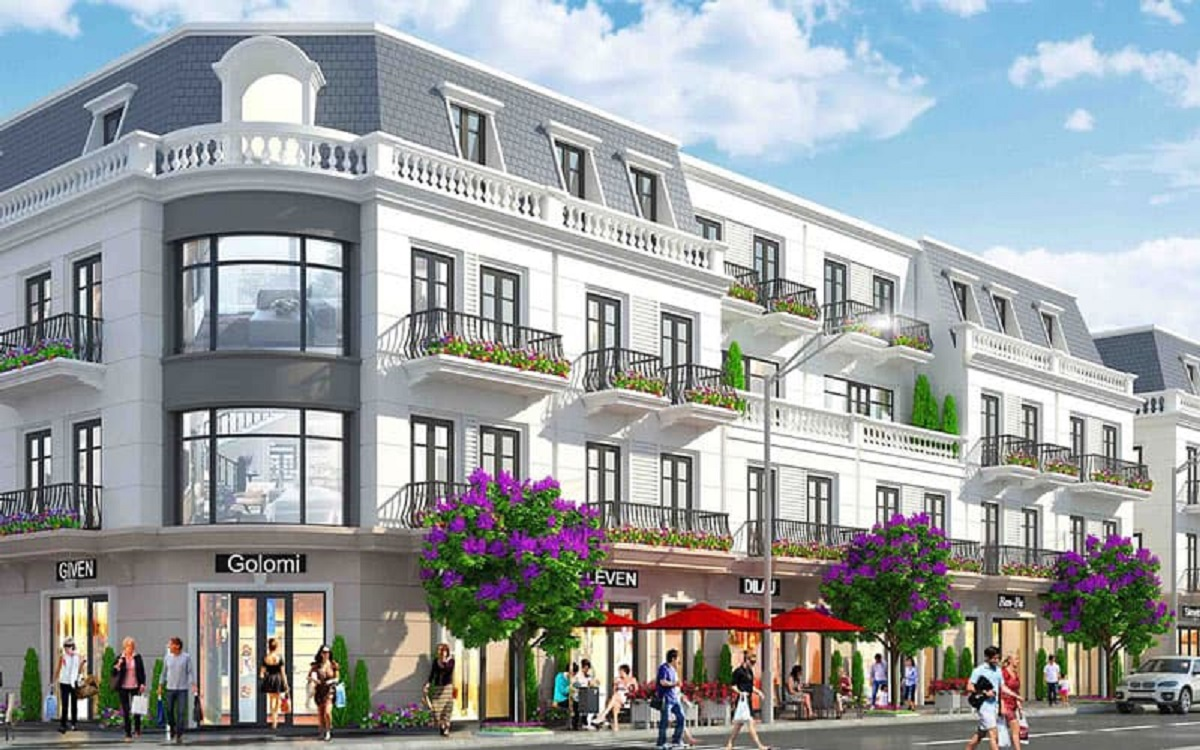 Shophouse – Sản phẩm đắt giá bậc nhất tại Vinhomes Dream City Hưng Yên