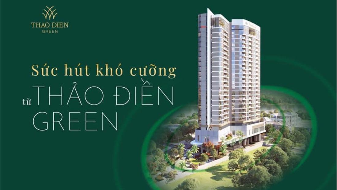 Thảo Điền Green SIC Residence Tower quận 2 mở bán