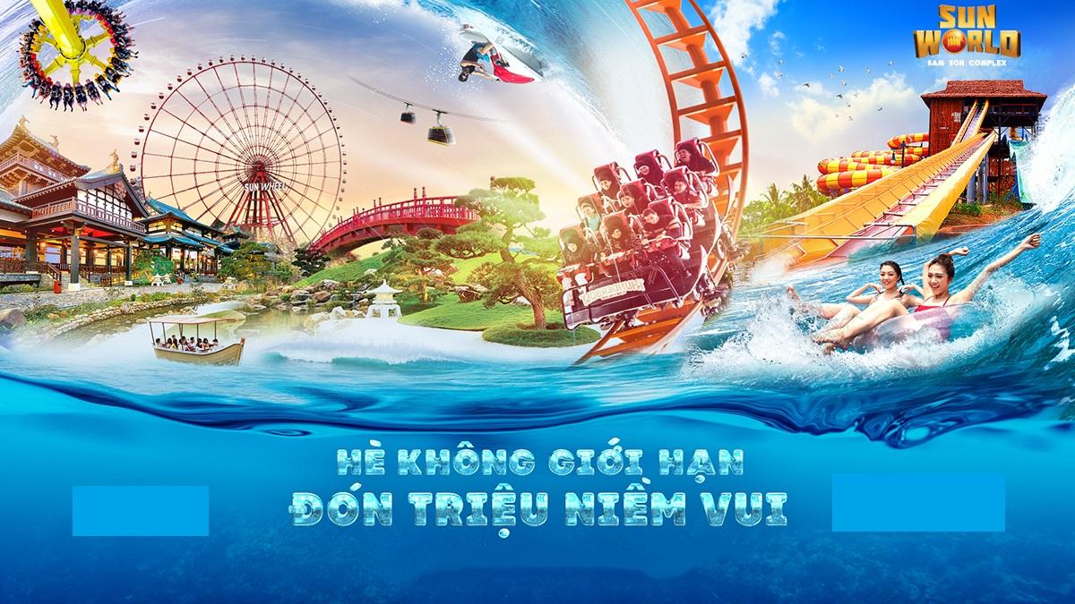 Sun World sẽ là khu vui chơi giải trí sôi động và đặc sắc nhất trong tổng thể dự án
