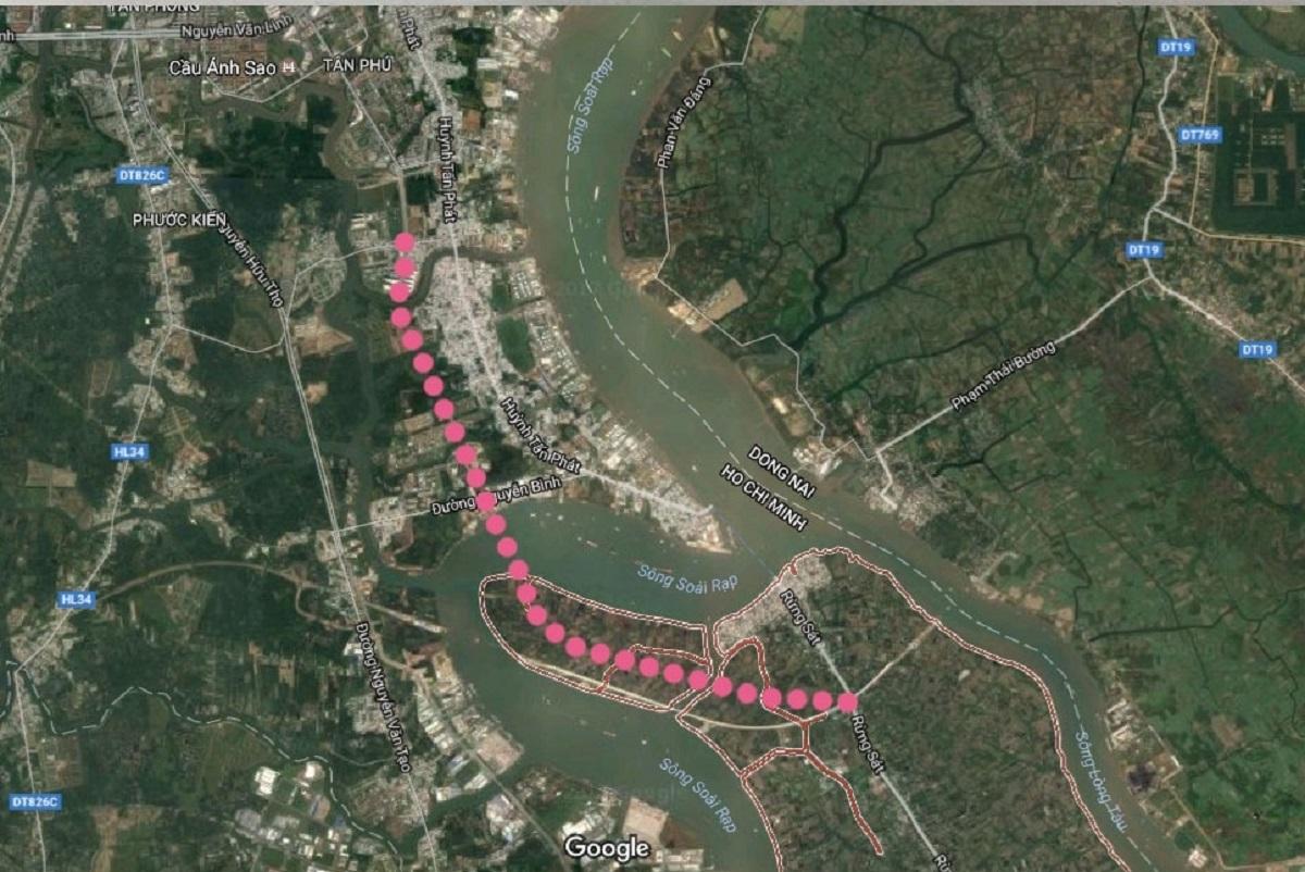 Tuyến đường cao tốc trên cao nổi bật liên kết gần dự án Vinhomes Cần Giờ