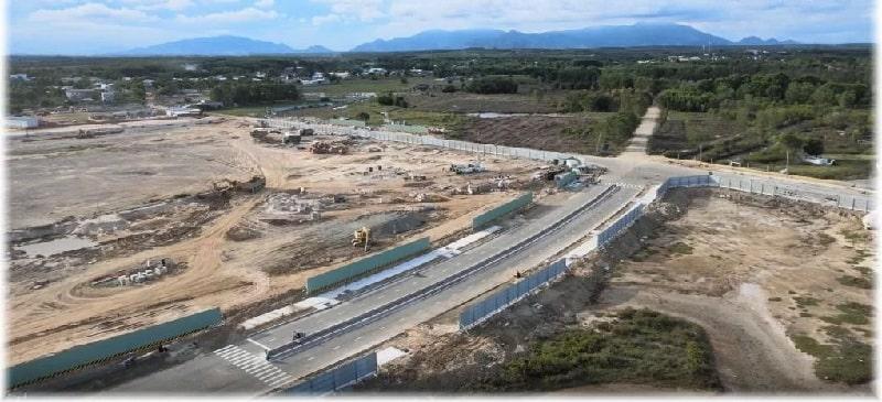 Tuyến đường lớn của dự án đã chính thức hoàn thành