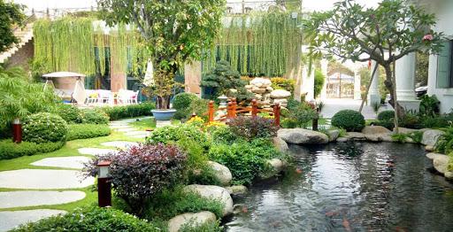 Phong thủy tiểu cảnh sân vườn theo nguyên tắc ngũ hành