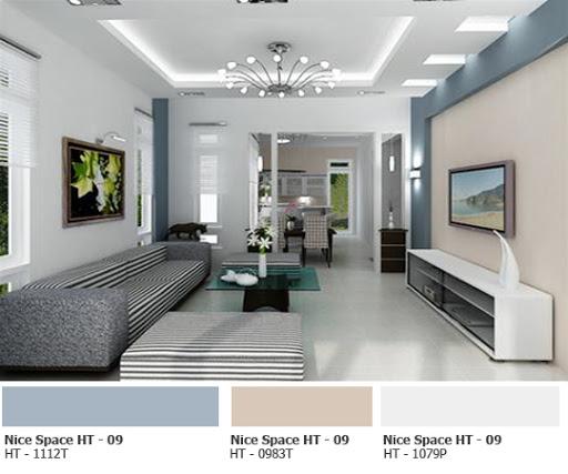 Các gam màu trung tính, màu sáng giúp không gian rộng rãi hơn