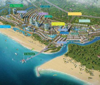 Venezia Beach Hồ Tràm sở hữu chuỗi tiện ích hạng sang với 14 cụm tiện ích tiêu chuẩn