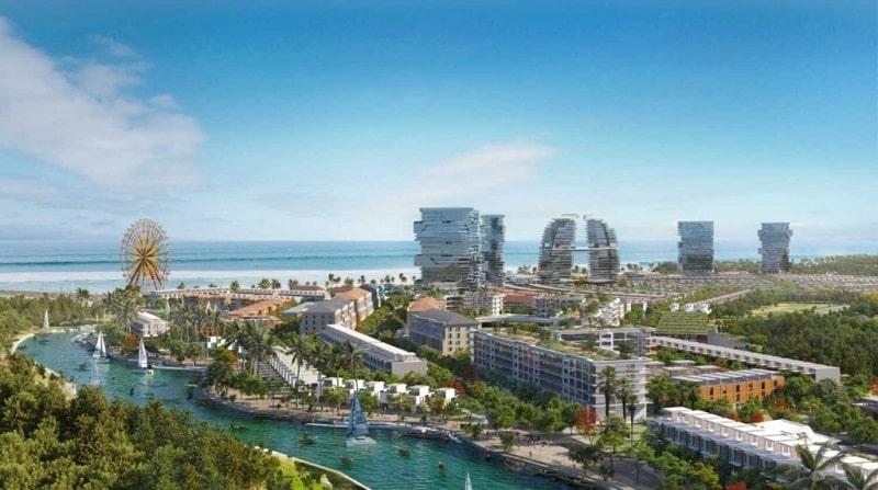 Venezia Beach Luxury Residences & Resort tích hợp 14 khu tiện ích