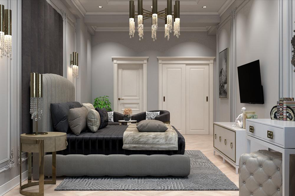 Lựa chọn thiết kế đơn giản mang phong cách cổ điển