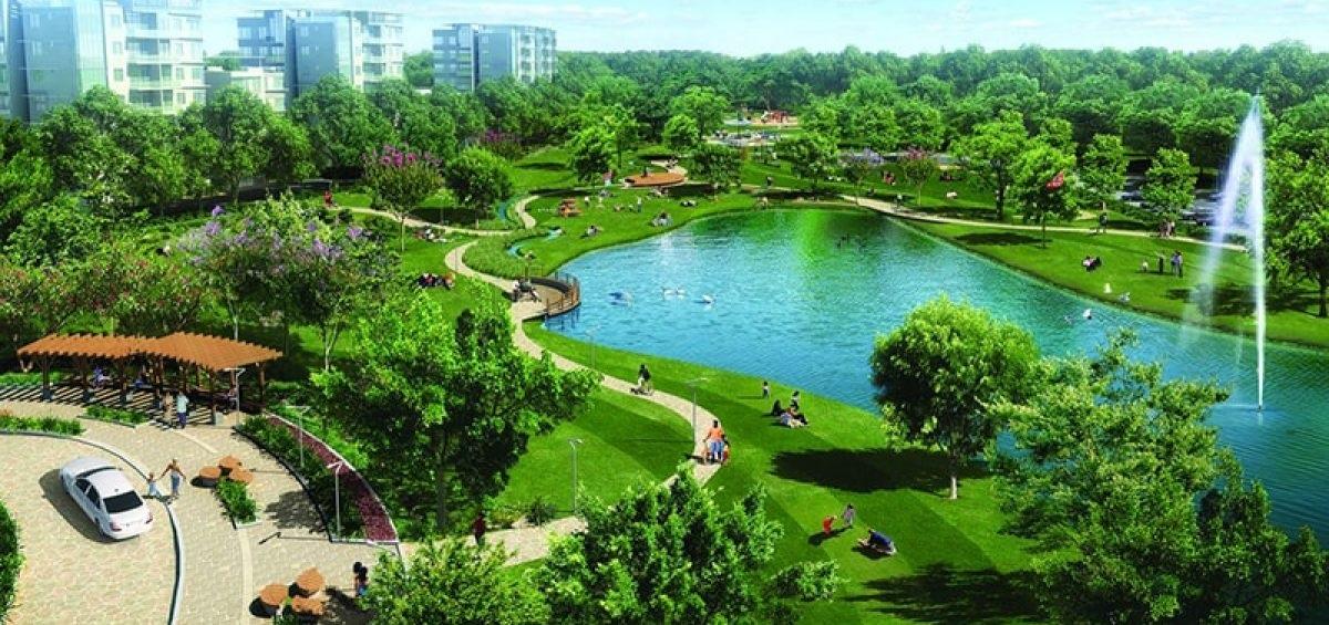 Vinhomes Dream City Hưng Yên xây dựng công viên xanh quy mô lớn