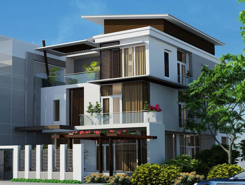 Xu hướng thiết kế nhà hiện nay là phong cách xanh