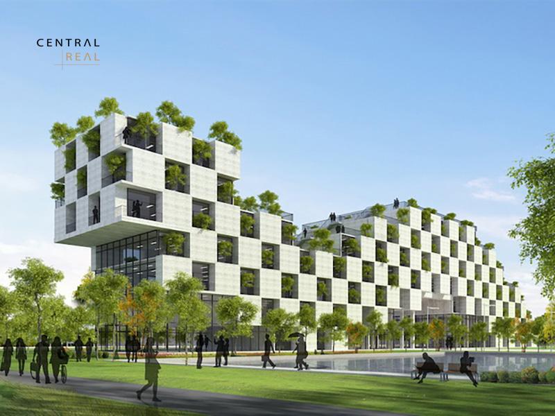 kiến trúc xanh là kiến trúc được tạo dựng từ những nguyên vật liệu thân thiện với môi trường, hài hòa với thiên nhiên