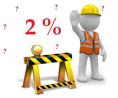Phí bảo trì của chung cư được tính là 2% giá trị căn hộ