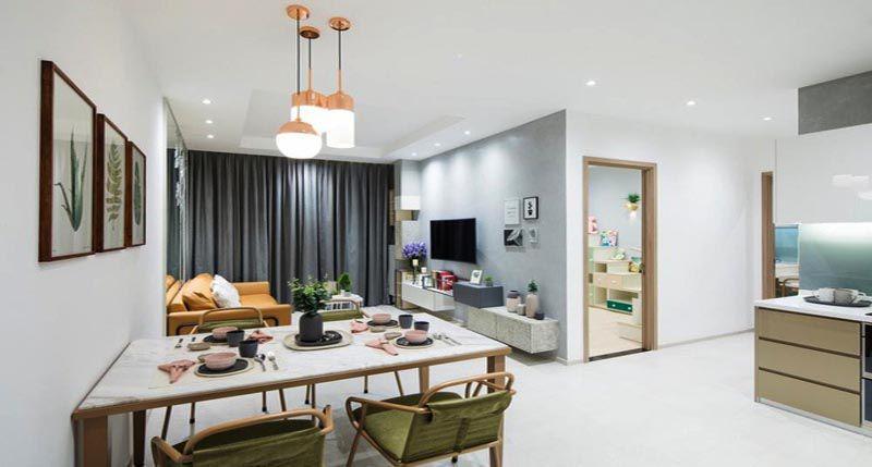 Căn hộ chung cư là loại hình không thể thiếu được ở Thành Phố
