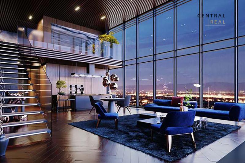 Vì có view đẹp nên căn hộ Duplex được nhiều người yêu thích