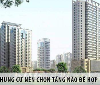 Khi chọn tầng chung cư theo phong thủy sẽ giúp chủ nhà có được căn hộ chung cư phù hợp