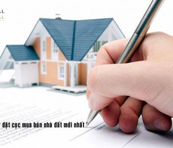 Mẫu giấy biên nhận tiền đặt cọc mua đất là biểu mẫu quy chuẩn