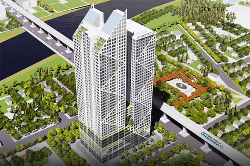 Tòa tháp đôi 90 tầng ở TP HCM nằm trong top những tòa nhà cao nhất Việt Nam trong tương lai