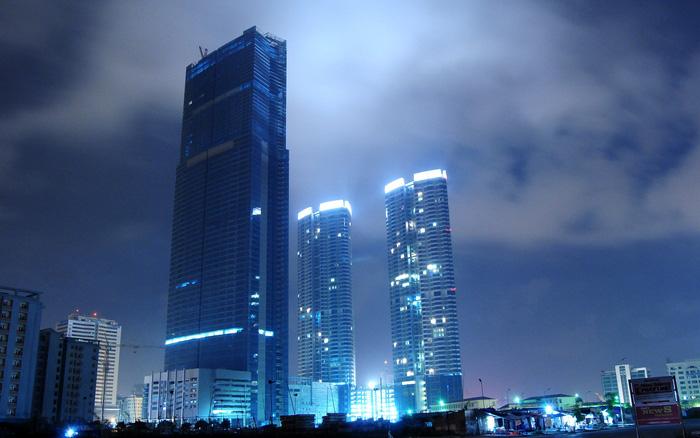 Nắm giữ kỷ lục là tòa nhà có chiều cao cao nhất Việt Nam
