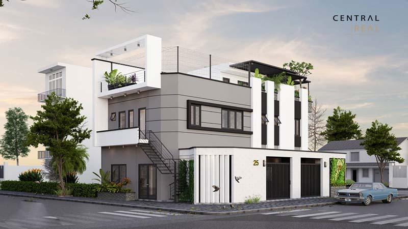 Thiết kế nhà ở kết hợp kinh doanh đẹp