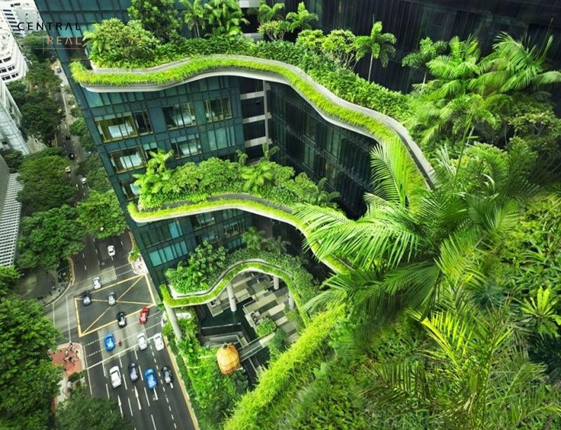 Kiến trúc bền vững hướng tới phương châm và phong cách tận dụng tối đa những gì có sẵn trong tự nhiên