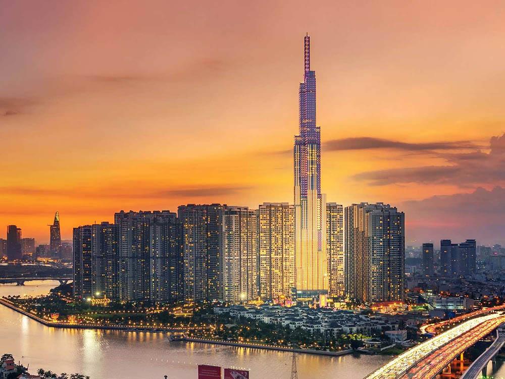 The Landmark 81 là một trong những tòa tháp đẳng cấp tầm cỡ quốc tế